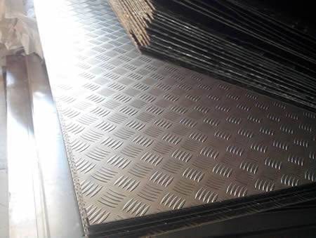 Aluminum Checker Plate Application Samples And Specification