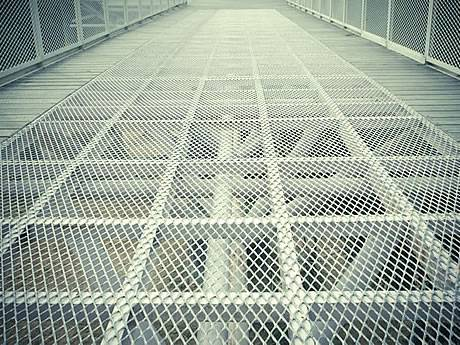 Expanded Checker Plate Galvanized Stainless Steel And