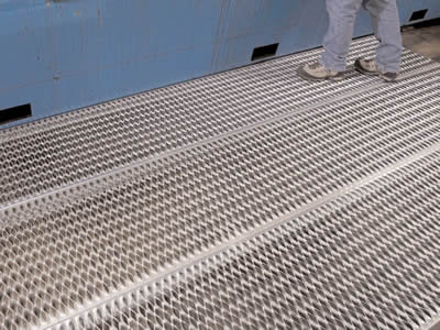 Diamond Strut Safety Grating For Flooring Walkway And