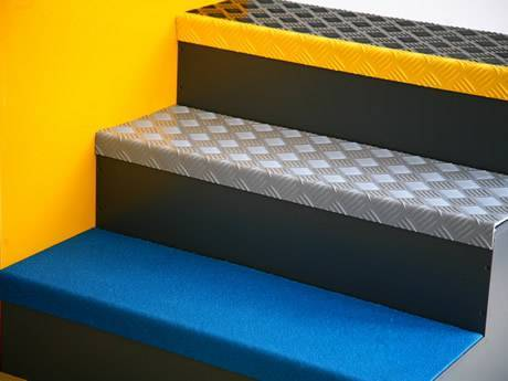 Non Slip Stair Treads Made A Solid Skid Resistant Floor