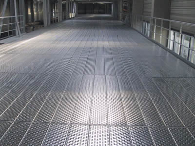 Traction Grip Safety Grating For Flooring And Stair Treads